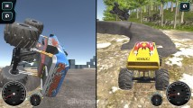 Island Monster Offroad: 2 Player Offroad Gameplay