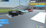 Jeep Parking Mania Airport: Car Selection