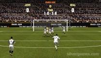 Juve Vs Real: Shooting Football
