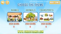 Kids Hangman: Theme Selection Kids Game