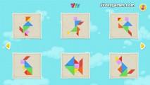 Kids Tangram: Gameplay Puzzle Selection