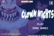 Killer Clown Nights: Menu
