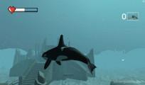 Killer Whale Simulator: Gameplay Shark