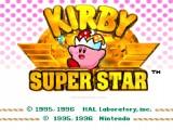 Kirby Super Star: Menu