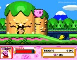 Kirby Super Star: Gameplay Flying Kirby