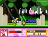 Kirby Super Star: Kirby Flying Gameplay