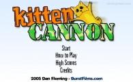 Kitten Cannon: Menu