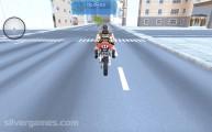 Lara Croft Special Ops: Gameplay Motorbike Lara Croft