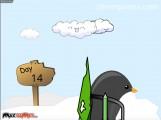 Learn To Fly: Penguin Preparing Slide