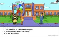 Lisa Simpson Saw: Screenshot