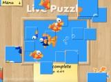 Live Puzzle: Moving Puzzle