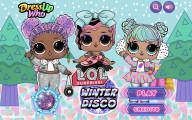 LOL Surprise Winter Disco: Menu