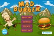 Mad Burger: Menu