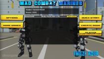 Mad Combat Marines: Menu