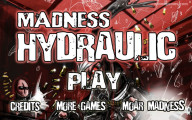 Madness Hydraulic: Menu
