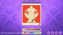 Mandala Coloring Pages: Coloring Fun Children Gameplay