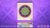 Mandala Coloring Pages: Gameplay Kids Coloring Designing