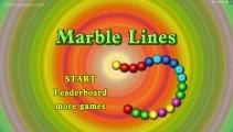Marble Lines: Menu