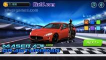 Maserati GranTurismo: Menu