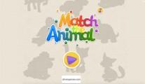 Match The Animal: Menu