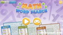 Math Word Search: Menu