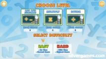 Math Word Search: Level Choice