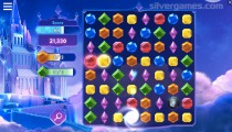 Microsoft Jewel: Match 3 Gameplay Diamonds