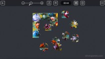 Microsoft Jigsaw: Color Puzzle Gameplay