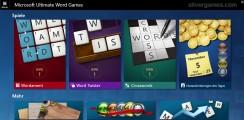 Microsoft Word Games: Menu