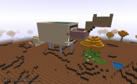Minecraft Builder: Building World