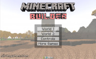 Minecraft Builder: Menu