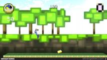 Minecraft Runner: Gameplay Distance Game