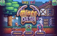 Miner Dash: Menu
