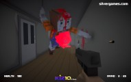 Mineworld Horror Mansion: First Person Shooter