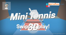 Mini Tennis 3D: Menu