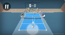 Mini Tennis 3D: Gameplay Tennis Match