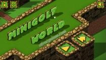 Minigolf World: Menu