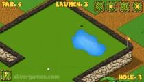 Minigolf World: Gameplay Minigolf Aiming