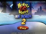 Monkey Go Happy: Mini Monkeys 2: Menu