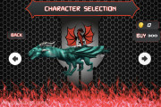 Monster Dragon City Destroyer: Character Selection Dragon
