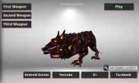 Monster Hunting: Menu