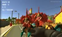 Monster Hunting: Gameplay Dino Attack