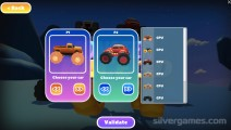 Monster Race 3D: 2 Player Car Selection