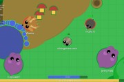 Mope.io: Gameplay Land