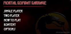 Mortal Kombat Karnage: Menu