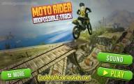 Moto Rider Impossible Track: Menu