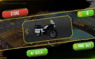 Moto Rider Impossible Track: Motocycle Selection
