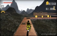 Moto Rider Impossible Track: Gameplay Motocycle Abyss