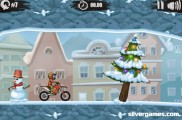 Moto X3M 4: Winter : Racing