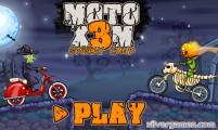Moto X3M Spooky Land: Game